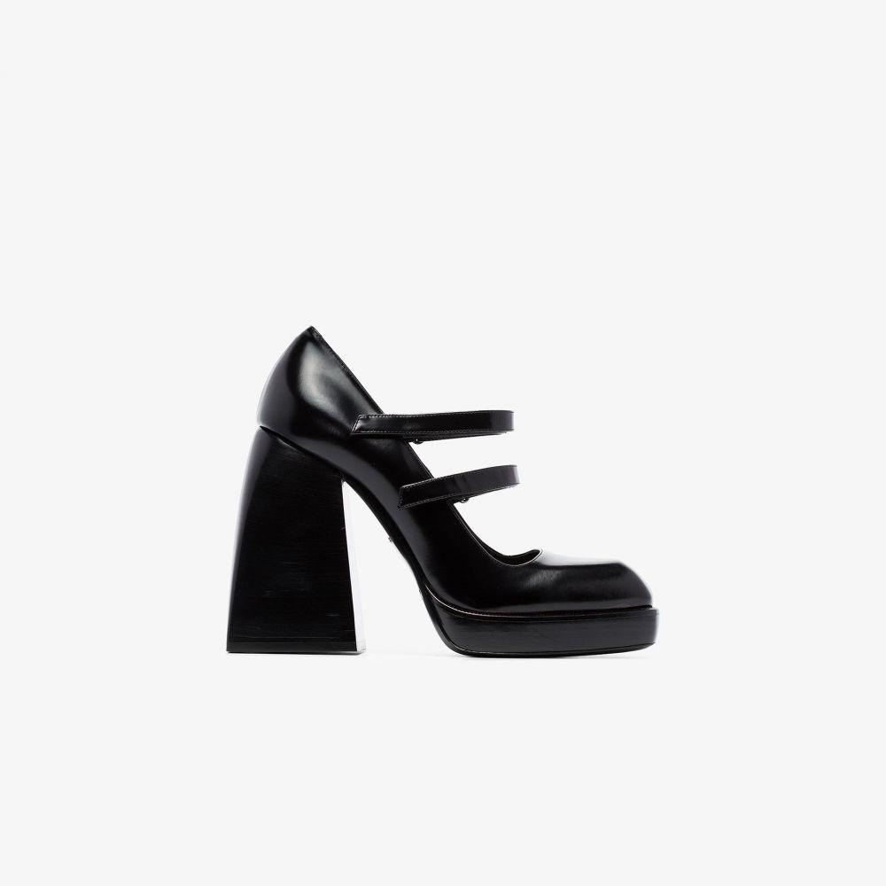 ノダレト Nodaleto レディース パンプス シューズ・靴【black Babies Bulla 105 leather Mary Jane pumps】black