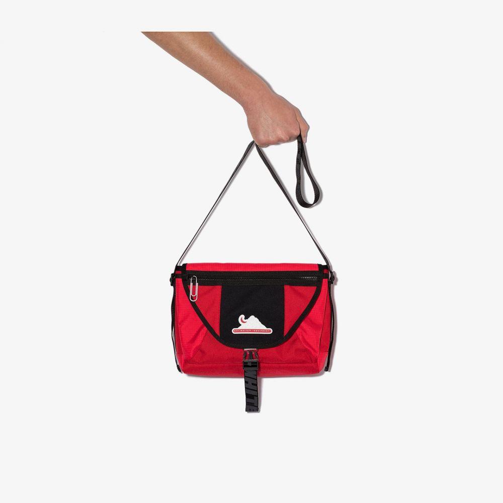 オフホワイト Off-White メンズ メッセンジャーバッグ バッグ【Red EQ MDM messenger bag】red