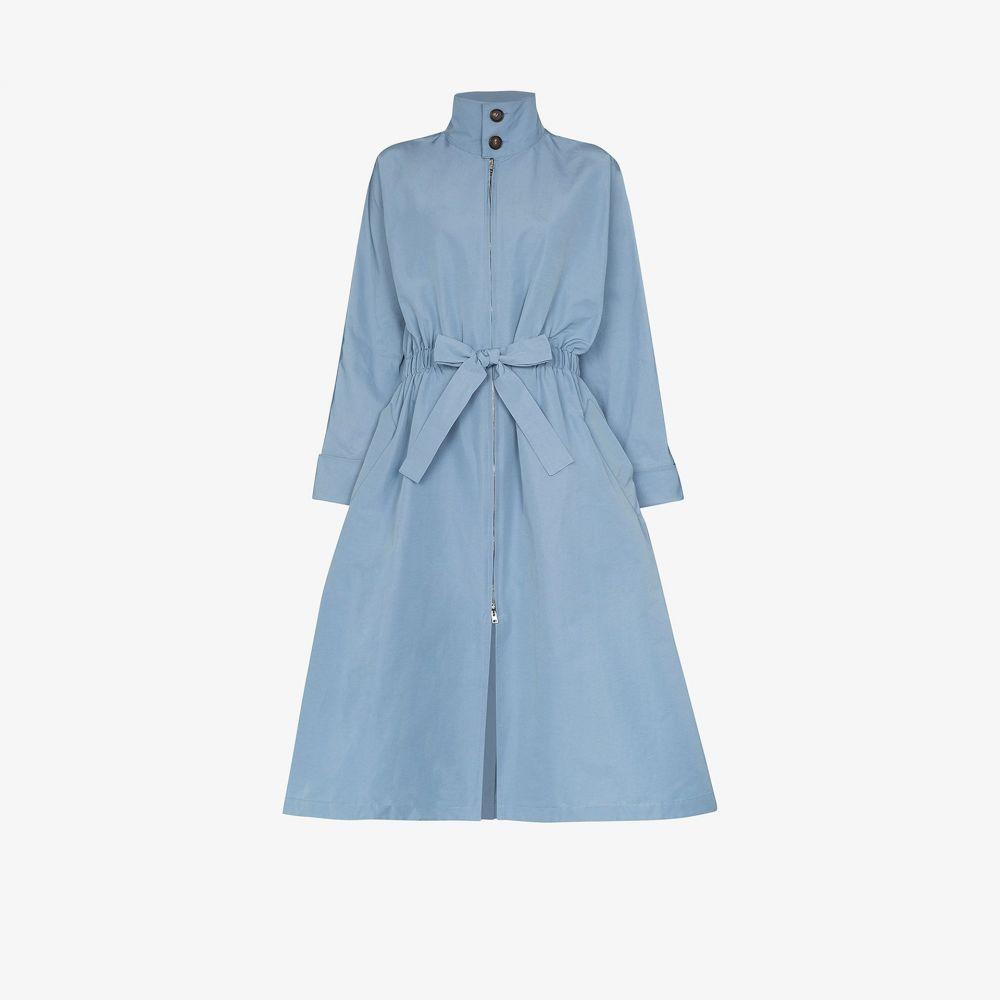 プラン C Plan C レディース コート アウター【drawstring waist coat】blue