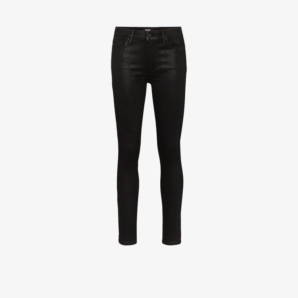 ペイジ PAIGE レディース ジーンズ・デニム ボトムス・パンツ【Hoxton coated skinny jeans】black