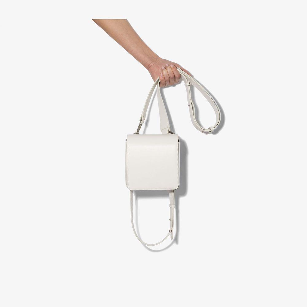 オソイ Osoi レディース ボディバッグ・ウエストポーチ バッグ【white Holring leather belt bag】white