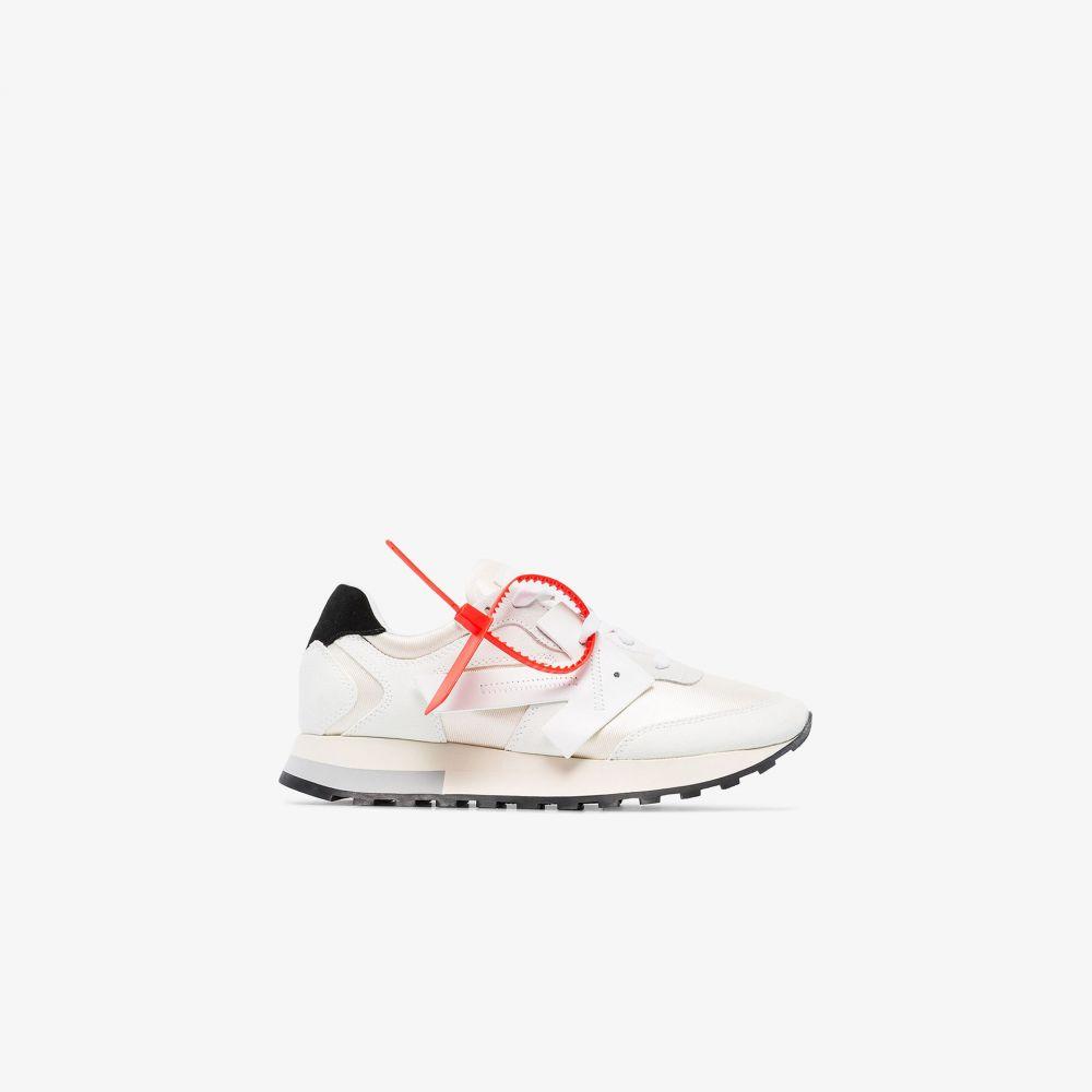 オフホワイト Off-White レディース ランニング・ウォーキング スニーカー シューズ・靴【white everyday runner sneakers】white