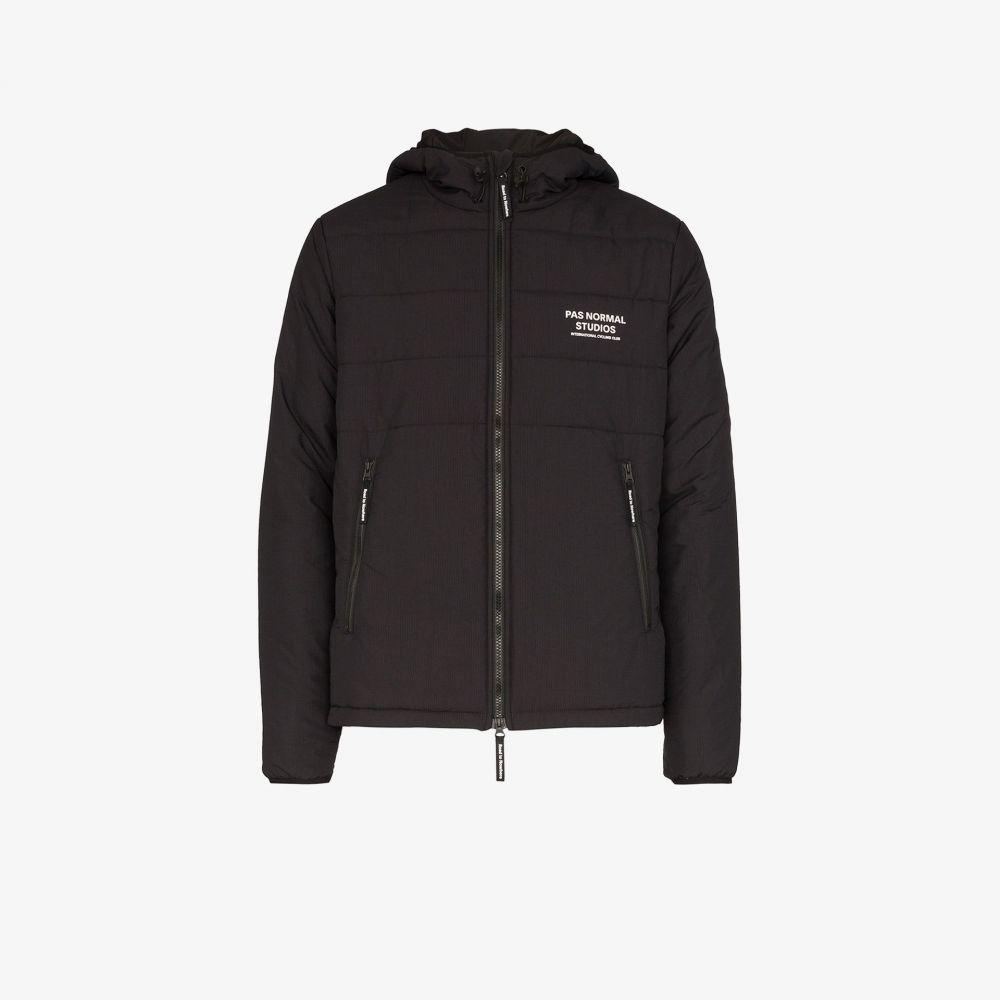 パス ノーマル スタジオ Pas Normal Studios メンズ ジャケット アウター【black Off-Race Thermal jacket】black
