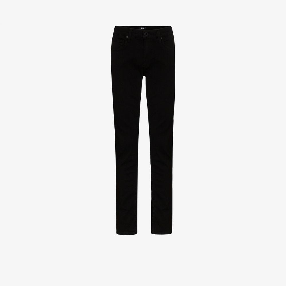 ペイジ PAIGE メンズ ジーンズ・デニム ボトムス・パンツ【Croft skinny jeans】black