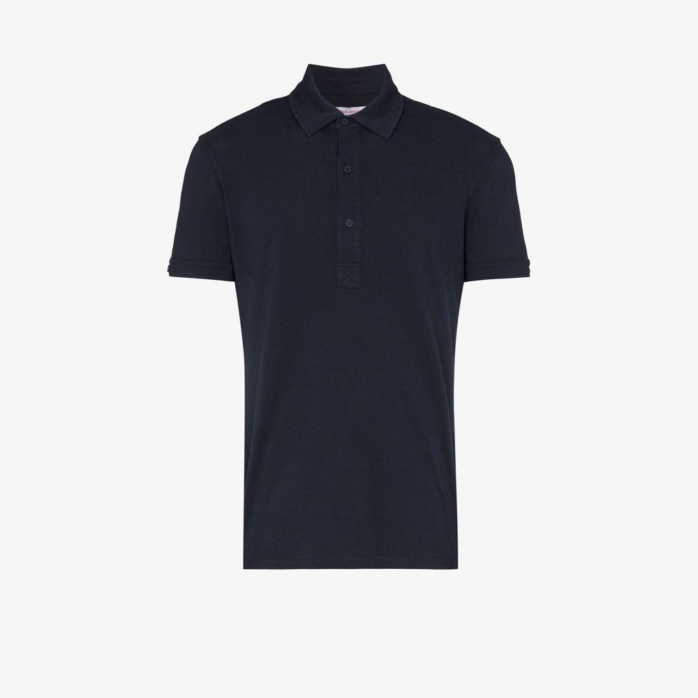 オールバー ブラウン Orlebar Brown メンズ ポロシャツ トップス【Sebastian cotton polo shirt】blue