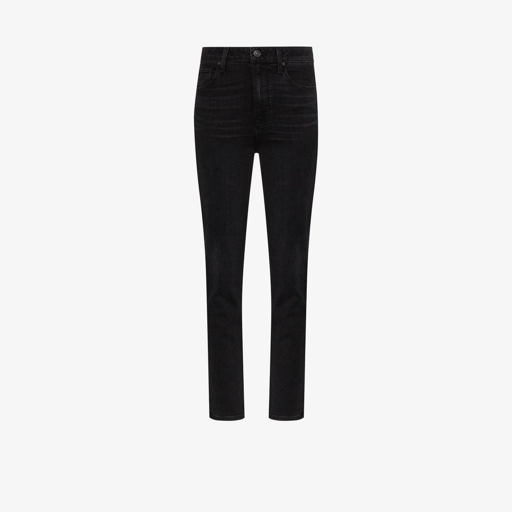 ペイジ PAIGE レディース ジーンズ・デニム ボトムス・パンツ【Sarah high-rise slim leg jeans】black