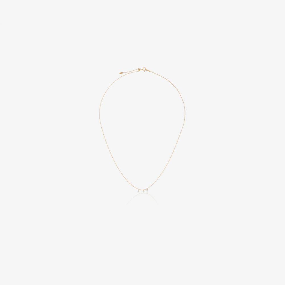 ペルシャ Persee レディース ネックレス チャーム ジュエリー・アクセサリー【18K yellow gold diamond charm necklace】