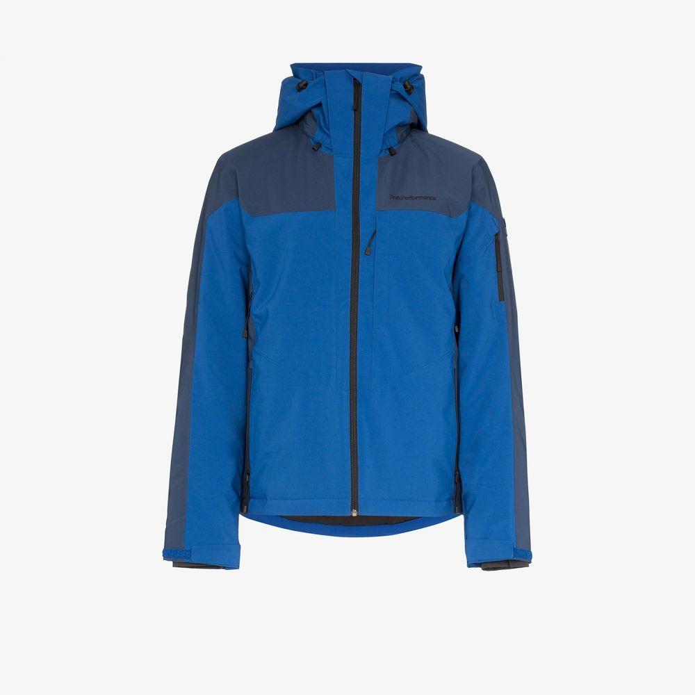 ピークパフォーマンス Peak Performance メンズ ジャケット アウター【Blue Maroon Race jacket】blue