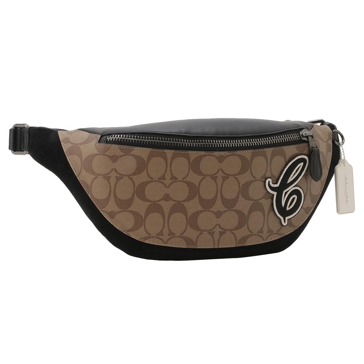 【即納】コーチ Coach メンズ バッグ ボディバッグ・ウエストポーチ【Belt Bag】QBTAL ファニーパック シグニチャー シグネチャー cロゴ ベルトバッグ