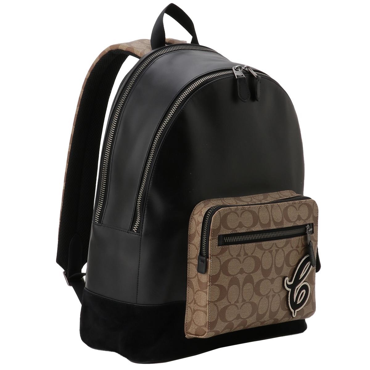 【即納】コーチ Coach ユニセックス バッグ バックパック・リュック【PVC Leather Backpack】QBTAL シグニチャー シグネチャー
