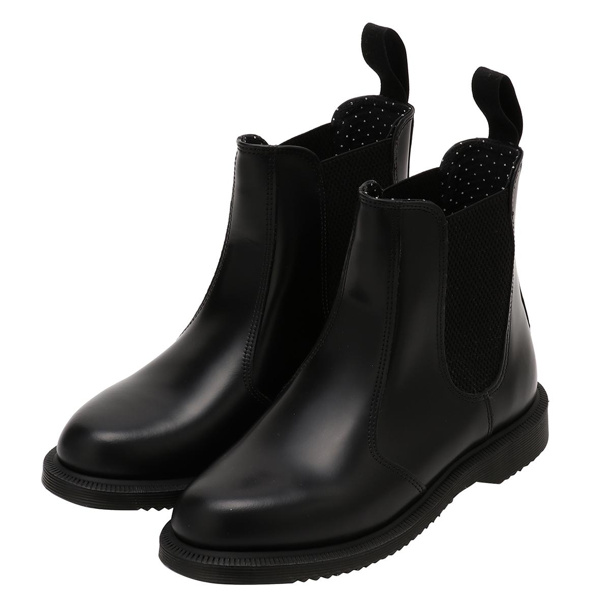 【即納】ドクターマーチン Dr. Martens レディース シューズ・靴 ブーツ【FLORA BOOTS】BLACK
