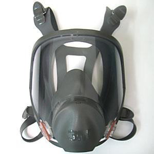 アスベスト除去作業 全面防塵マスク3M社製 6700(S)、6800(M)、6900(L)