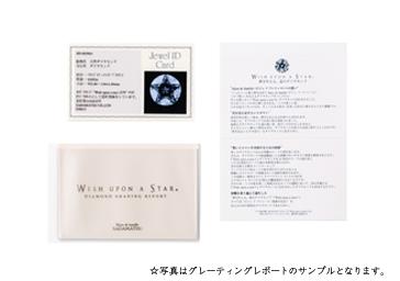 【ネックレス】K10イエローゴールド Wish upon a star ダイヤモンド ネックレス ミニ鑑別カード付き 4月誕生石 ふたつの星レディース  フェスタリア ビジュソフィア ギフト プレゼント