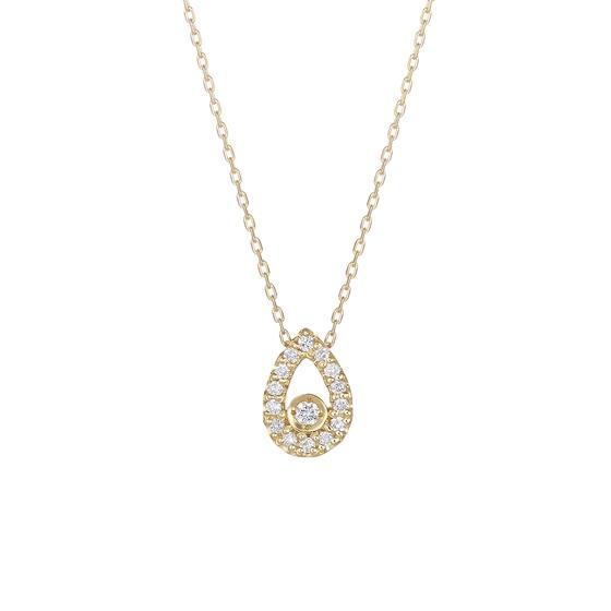 K18イエローゴールド ダイヤモンド ペンダント【送料無料】【festaria bijou SOPHIA フェスタリア ビジュソフィア】