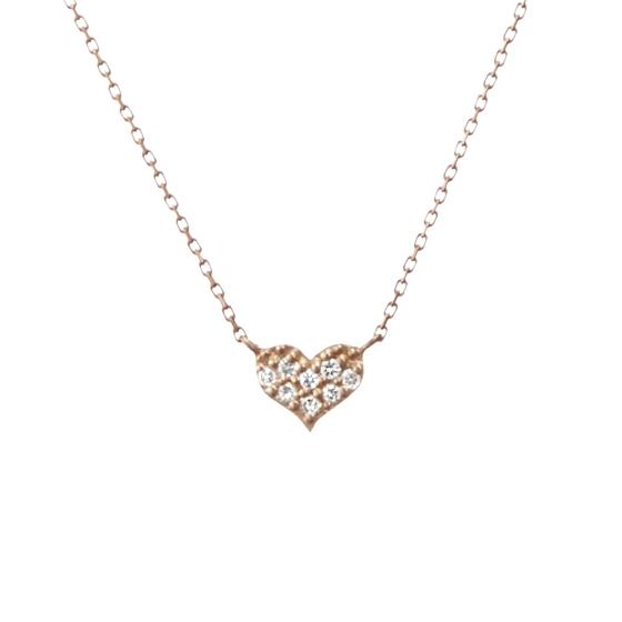 K10ピンクゴールド ダイヤモンド ネックレス【送料無料】【festaria bijou SOPHIA フェスタリア ビジュソフィア】