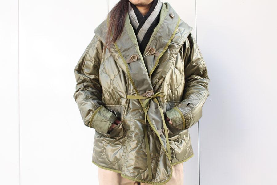 【送料無料】kapital キャピタル ナイロンキルティングライニングリングコート