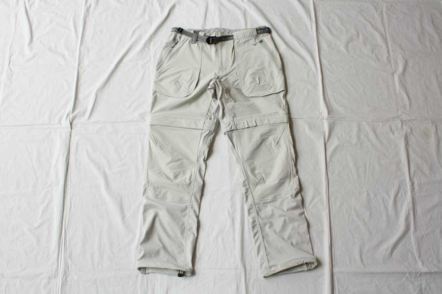 ■【送料無料】and wander アンドワンダー trek 2way pants 2 トレックパンツ
