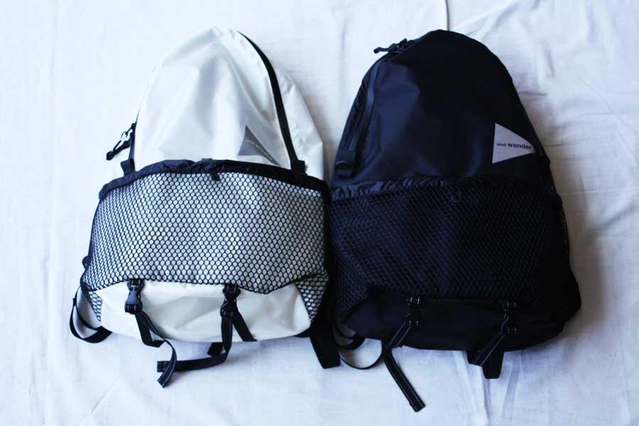 ■【送料無料】and wander アンドワンダー 20L daypack デイパック