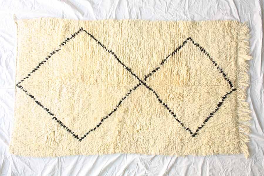 【送料無料】morocco rug モロッコラグ Beni ouarain ベニワレン