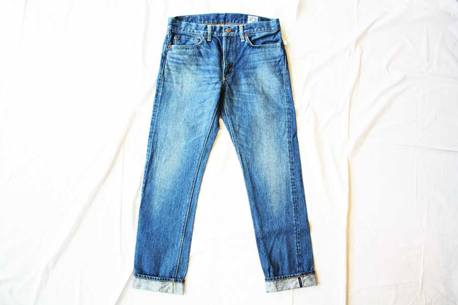 ■【送料無料】orslow オアスロー IVY FIT DENIM 107 2YEAR WASH (LADY'S)