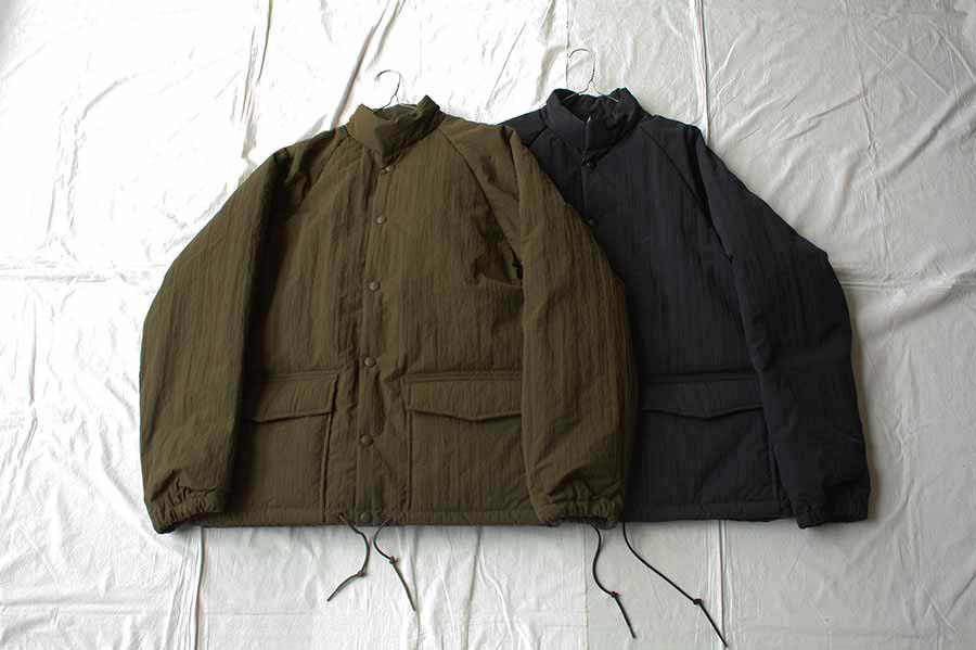 orslow オアスロー WATER REPELLENT PUFF NYLON COACH JACKET ジャケット (UNISEX)