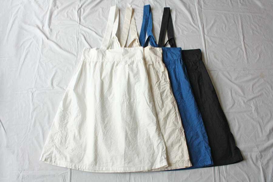 【送料無料】Yarmo ヤーモ One Shoulder Apron Skirt エプロンスカート