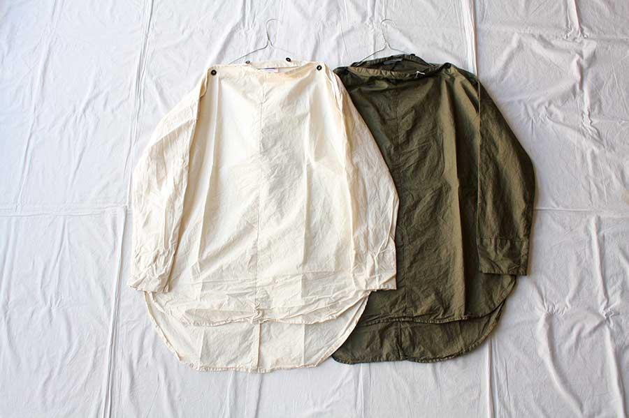 【送料無料】Yarmo ヤーモ Horizontal Buttoned Neck Shirts シャツ
