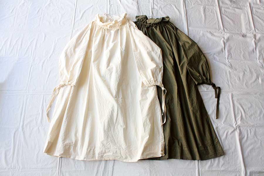 【送料無料】Yarmo ヤーモ Over Smock DRESS スモックドレス