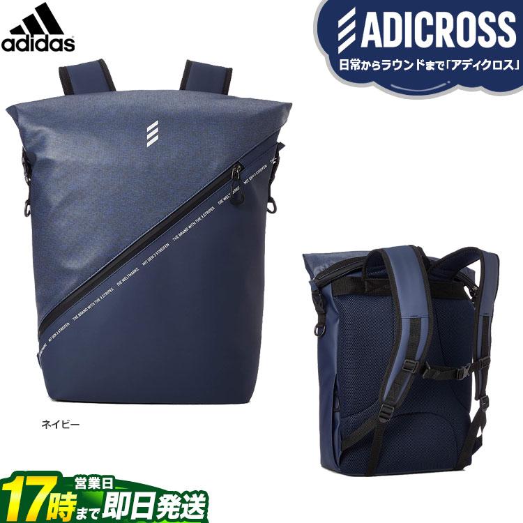 【FG】2019年モデル アディダス ゴルフ HFF77 ADICROSS ヘザー バックパック (メンズ)