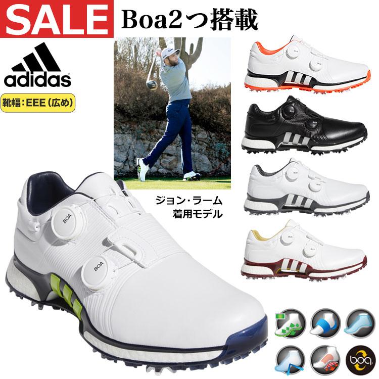 【FG】【セールSALE】2019年モデル アディダス ゴルフシューズ DBE65 ツアー360 XT ツイン ボア (メンズ)