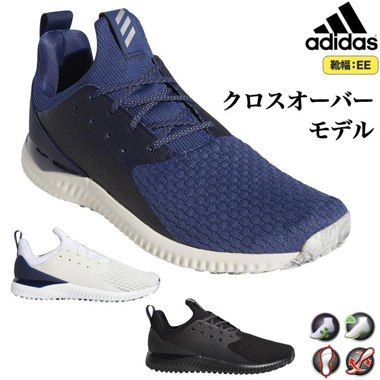 【FG】2020年モデル アディダス ゴルフシューズ EPC39 アディクロス バウンス2 TEX[スパイクレス/靴ひもタイプ] (メンズ)