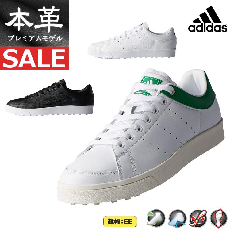 【FG】日本正規品adidas アディダス ゴルフシューズ WI511 adicross classic WD / アディクロス クラシック ワイド (メンズ)