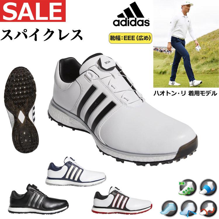 【動画あり】【FG】2019年モデル adidas アディダス ゴルフシューズ DBB80 ツアー360 XT スパイクレス ボア (メンズ)