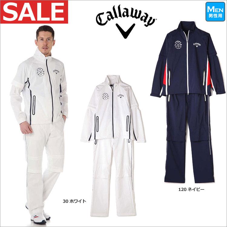 【セール】日本正規品キャロウェイ ゴルフウェア Callaway GOLF 7988501 2WAYセットアップレインウエア レインスーツ (メンズ)