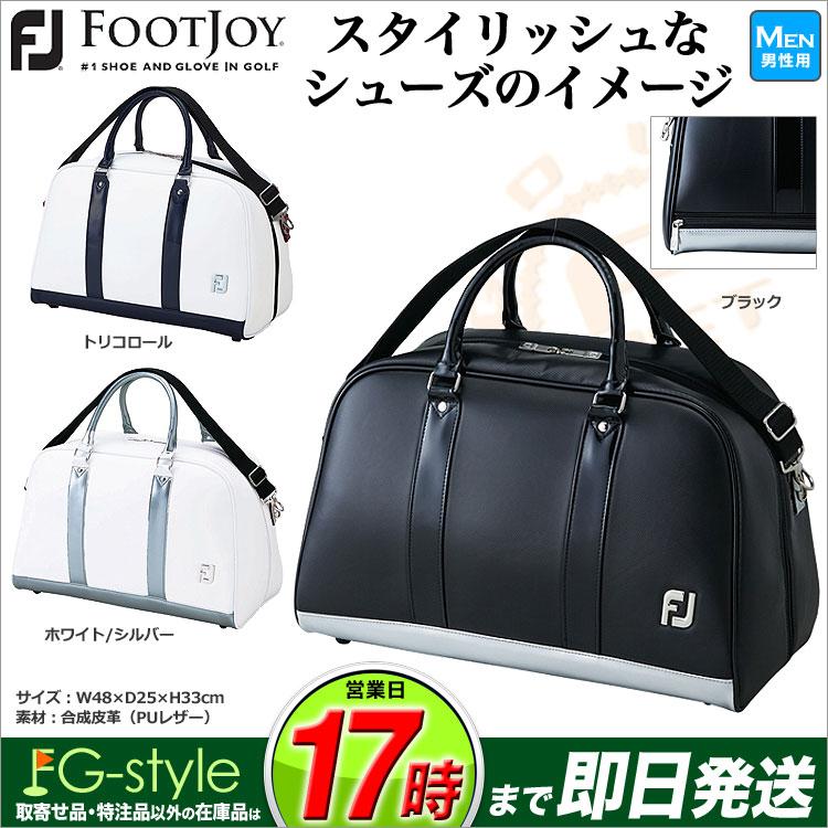 【あす楽】【日本正規品】 FootJoy フットジョイ ゴルフ BB1818 FJ スタイリッシュ ボストンバッグ