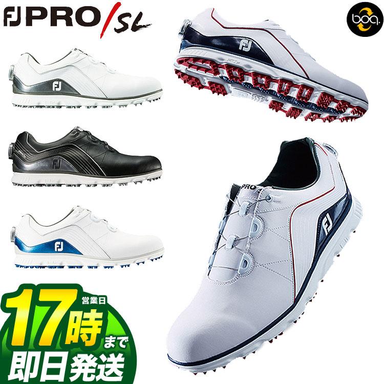 【FG】日本正規品フットジョイ ゴルフシューズ NEW FJ Pro/SL Boa プロSL ボア (ウィズ:W)