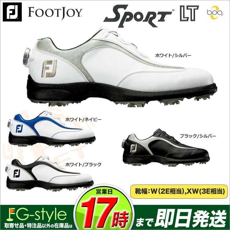 【FG】日本正規品フットジョイ ゴルフシューズ FJ SPORT LT Boa スポーツLT ボア 2017(ウィズ:W) 【ゴルフグッズ用品】