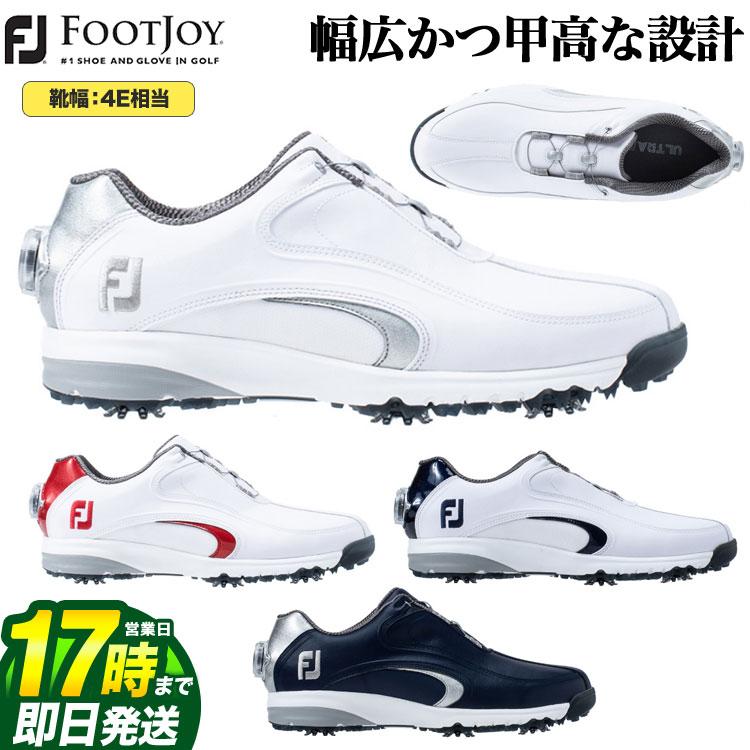 【FG】2019年モデル 日本正規品 FOOTJOY フットジョイ ゴルフシューズ FJ ウルトラフィット XW Boa ボア (4E相当)