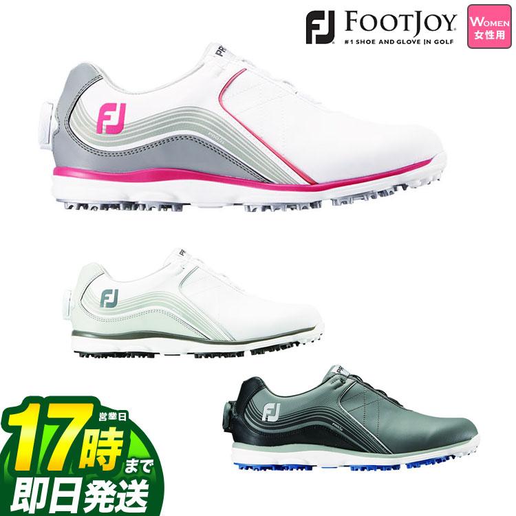 【FG】2019年モデル 日本正規品FOOTJOY フットジョイ ゴルフシューズ 19 Pro SL Boa プロSL ボア (レディース)
