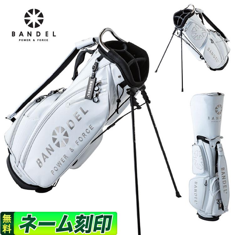 【FG】2019年 新作 BANDEL GOLF バンデル ゴルフ 2019 golfbag white ゴルフバッグ ホワイト 19GBW スタンドバッグ キャディバッグ