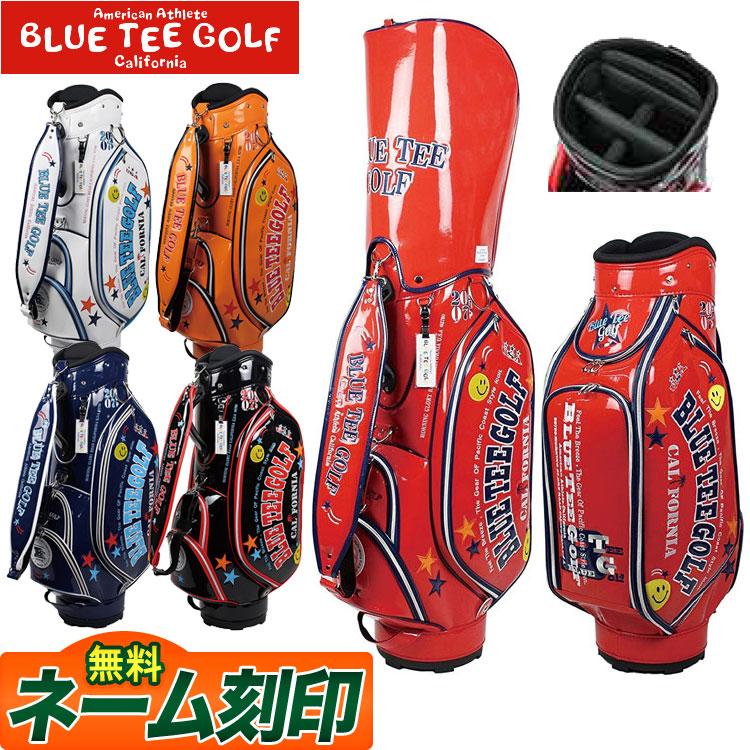 【FG】BLUE TEE GOLF ブルーティーゴルフ BTG-CB005 限定 エナメル キャディバッグキャディーバック