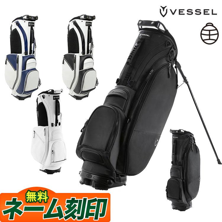 【あす楽】VESSEL ベゼル ゴルフ PLAYER STAND 853012 キャディバッグ