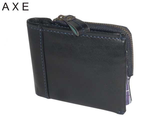 新生活 母の日 正規品 ポイント10倍 アックス AXE カプチーノ財布 140602 二つ折り財布 カード段15 ikt02