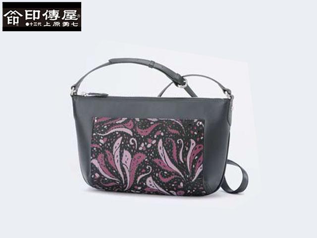 正規品 新生活 母の日  印伝 印傳屋 印伝 Frinoce フリノス ショルダーバッグ 和風 日本製 和柄 8701 indn23
