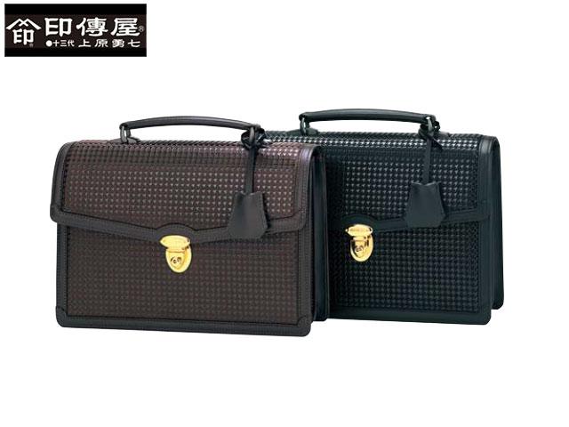 正規品 新生活 母の日  印伝 印傳屋 印伝 ハヤト HAYATO 手提げバッグ 和柄 8908 indn23