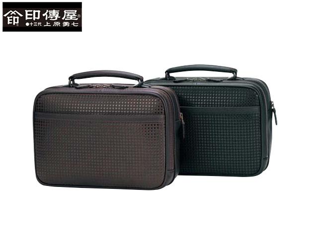 正規品 新生活 母の日  印伝 印傳屋 印伝 ハヤト HAYATO 手提げバッグ 和柄 8909 indn23