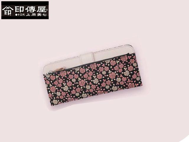 クリスマス 正規品 印伝 印傳屋 印伝 かぐわ KAGUWA 束入れ 長財布 和風 日本製 和柄 8402 indn23