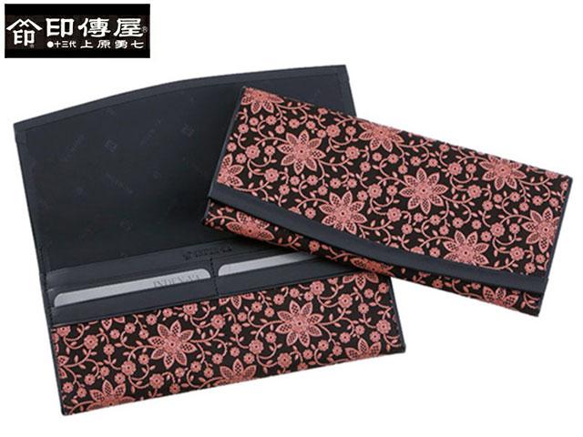 正規品 新生活 母の日  印伝 印傳屋 印伝 レザー コレクション 束入 長財布 和風 日本製 和柄 2311 indn23