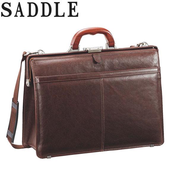 ビジネスバッグ ダレスバッグ メンズ 日本製 豊岡製鞄 口枠 木手 黒 チョコ #22329 サドル SADDLE ポイント10倍 hira39