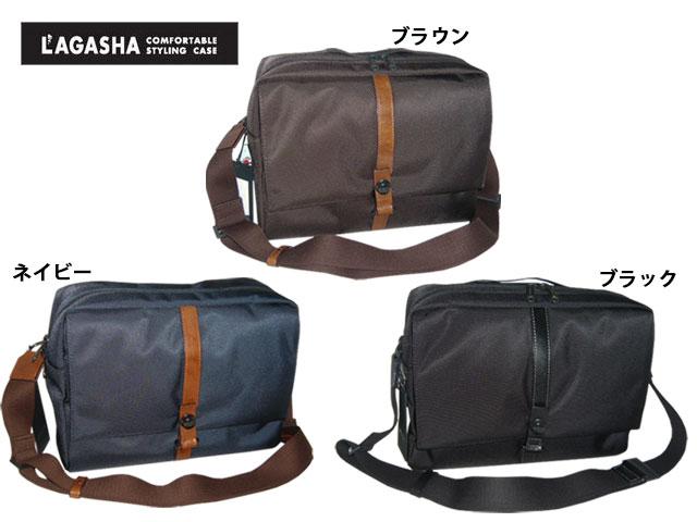 メンズ レディース 正規品 ポイント10倍 ラガシャ[Lagasha] LAGASHA MOVE ムーヴ 7143 A4対応(30センチ) ショルダーバッグ tor03
